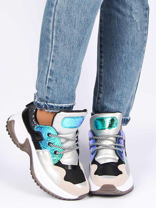 Кросівки сріблясті | 5207261