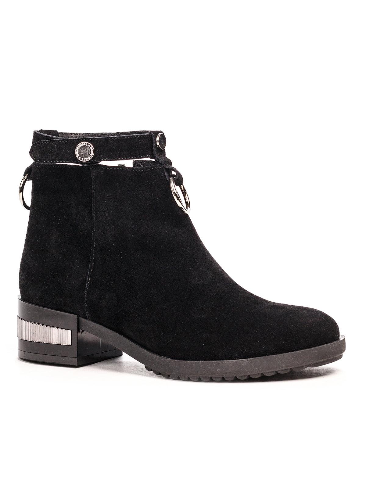 Ботинки черные | 5201492