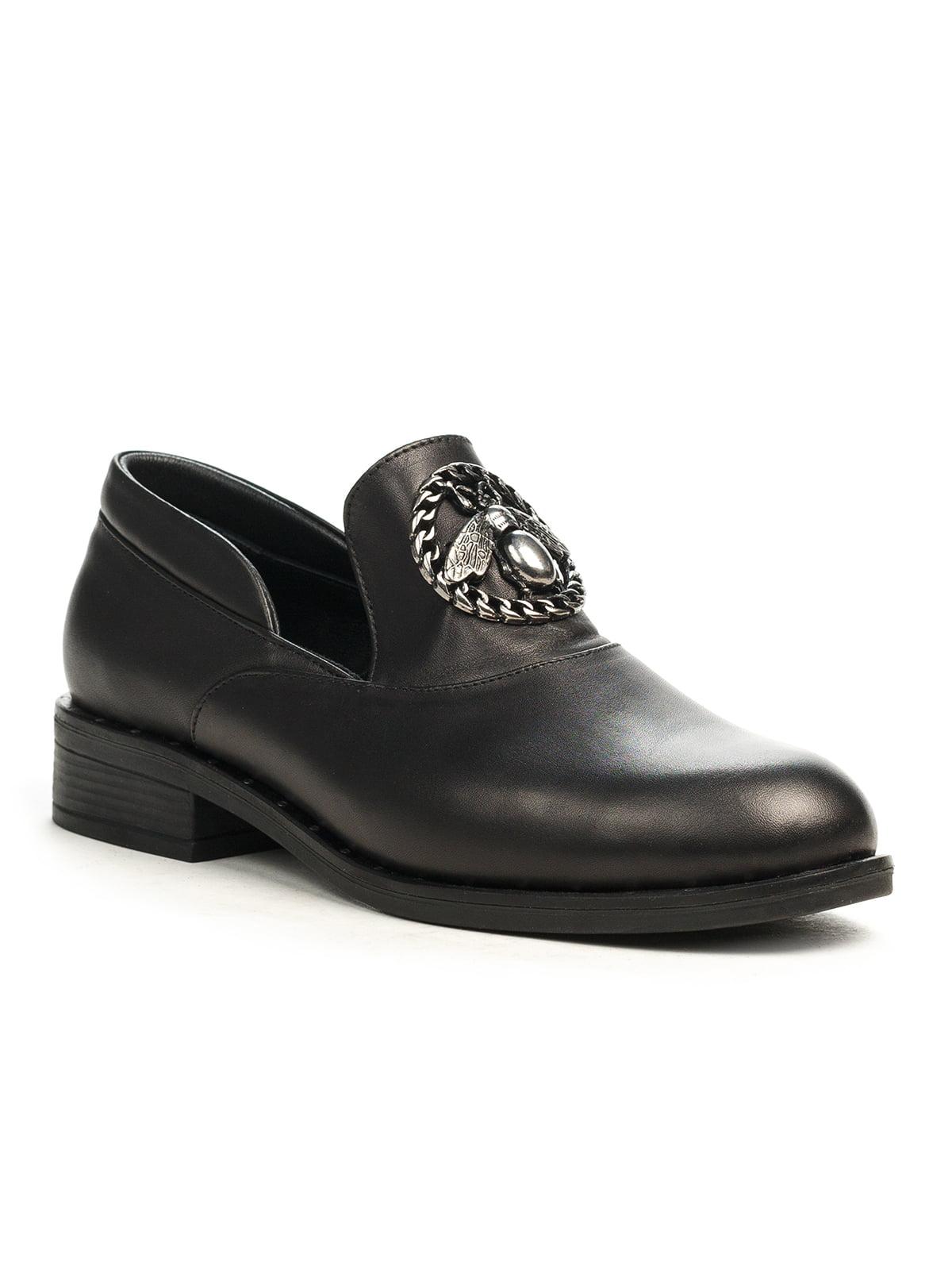 Туфли черные | 5201501
