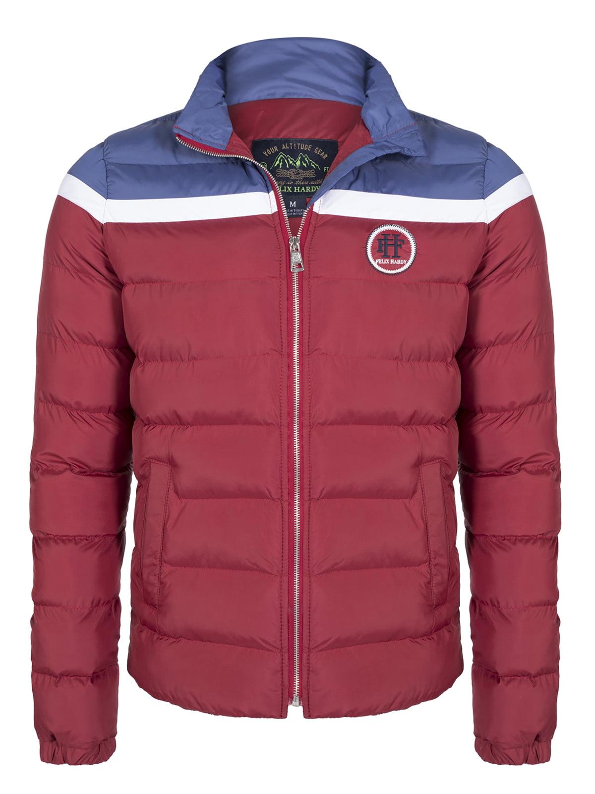 Куртка бордово-синяя | 4622046
