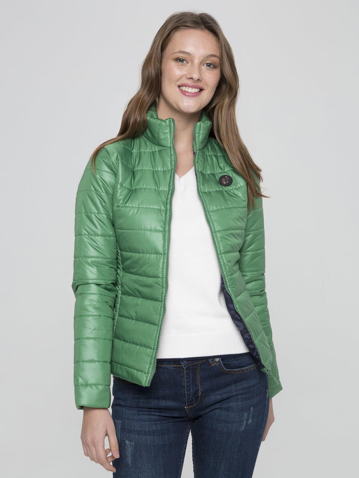 Куртка зелена | 4622081
