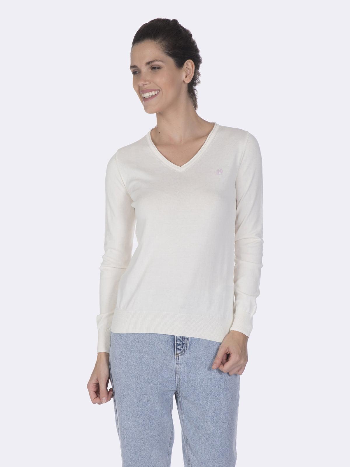 Пуловер белый | 5049592