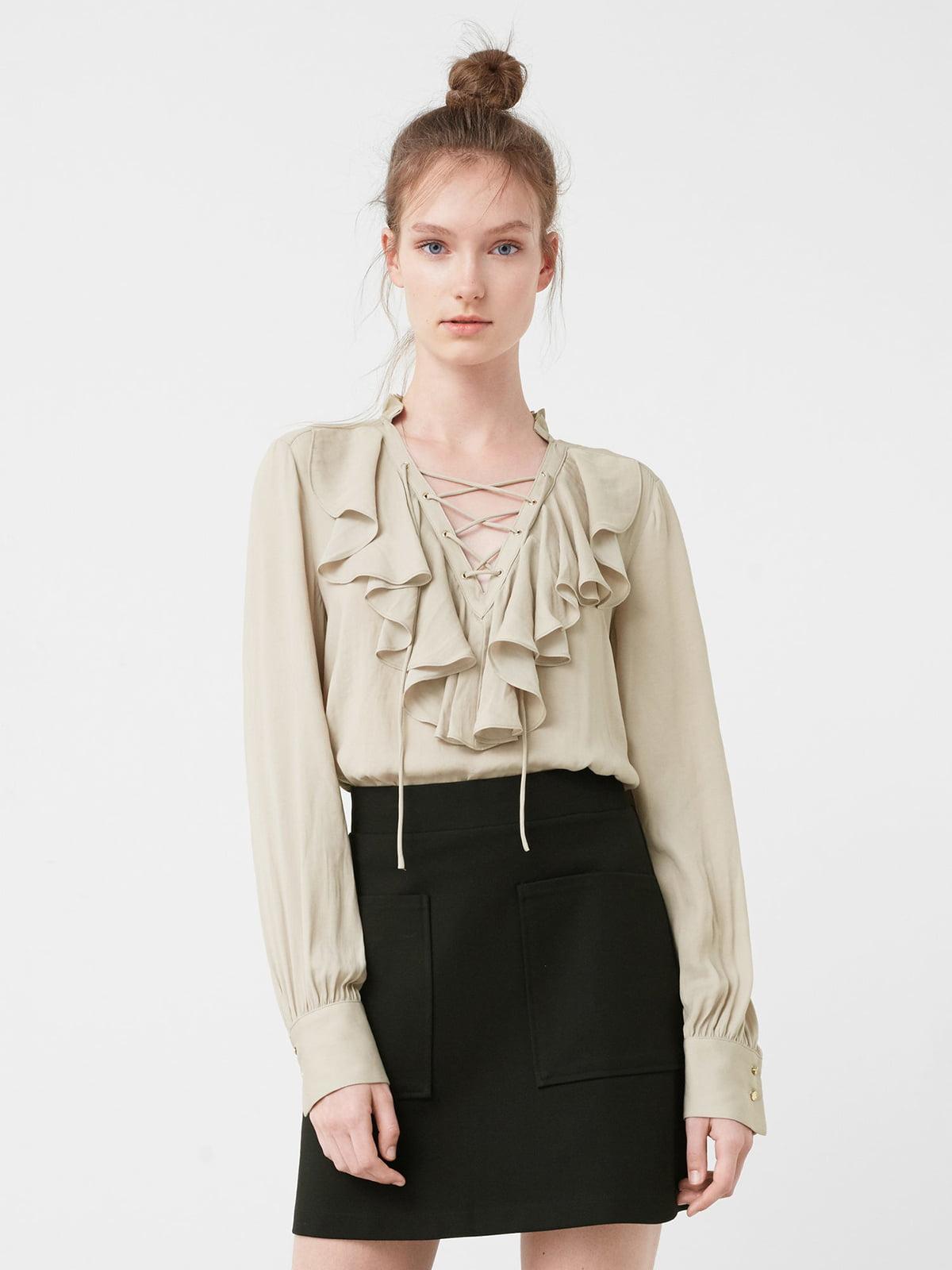 Блуза бежева   5118126