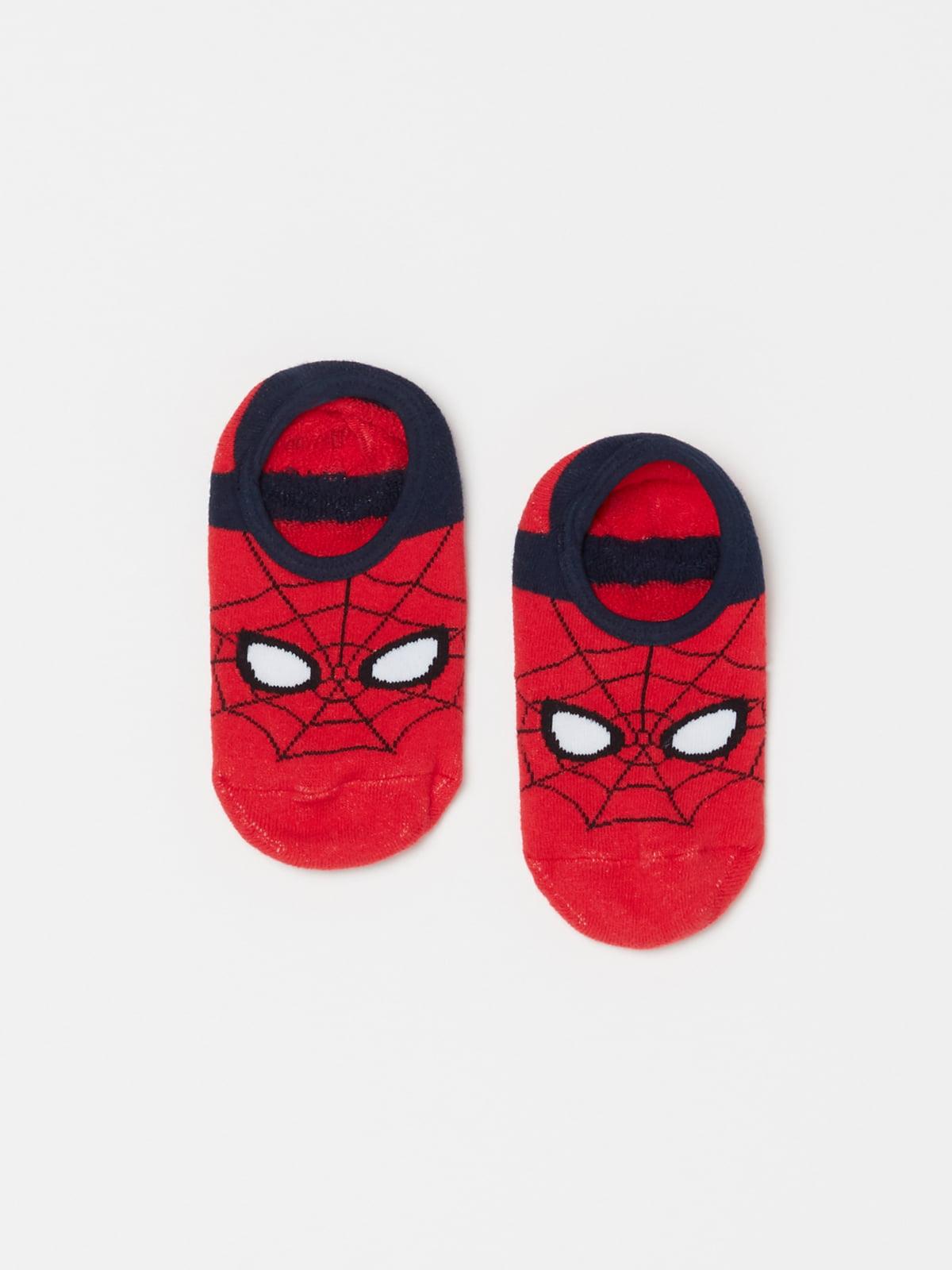 Шкарпетки червоні в принт   5183611