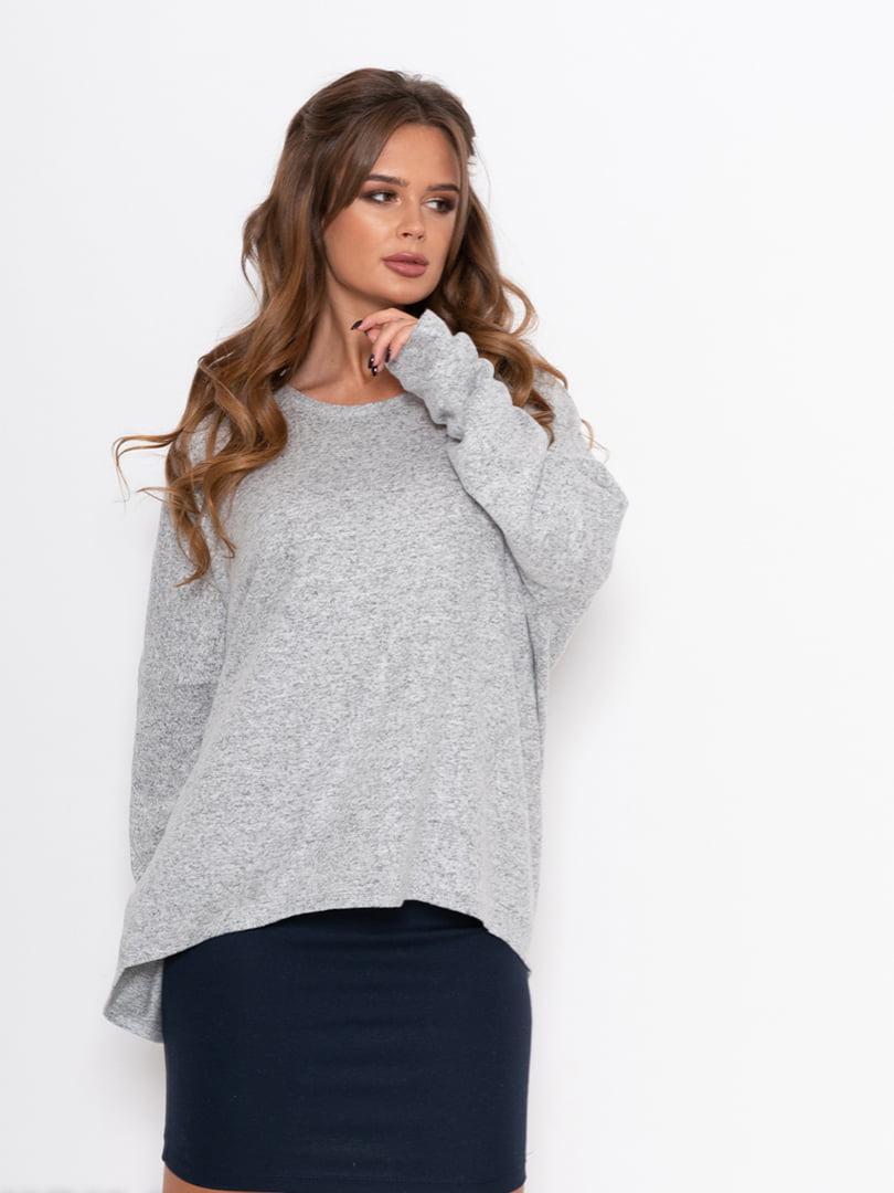 Пуловер серый | 5200604