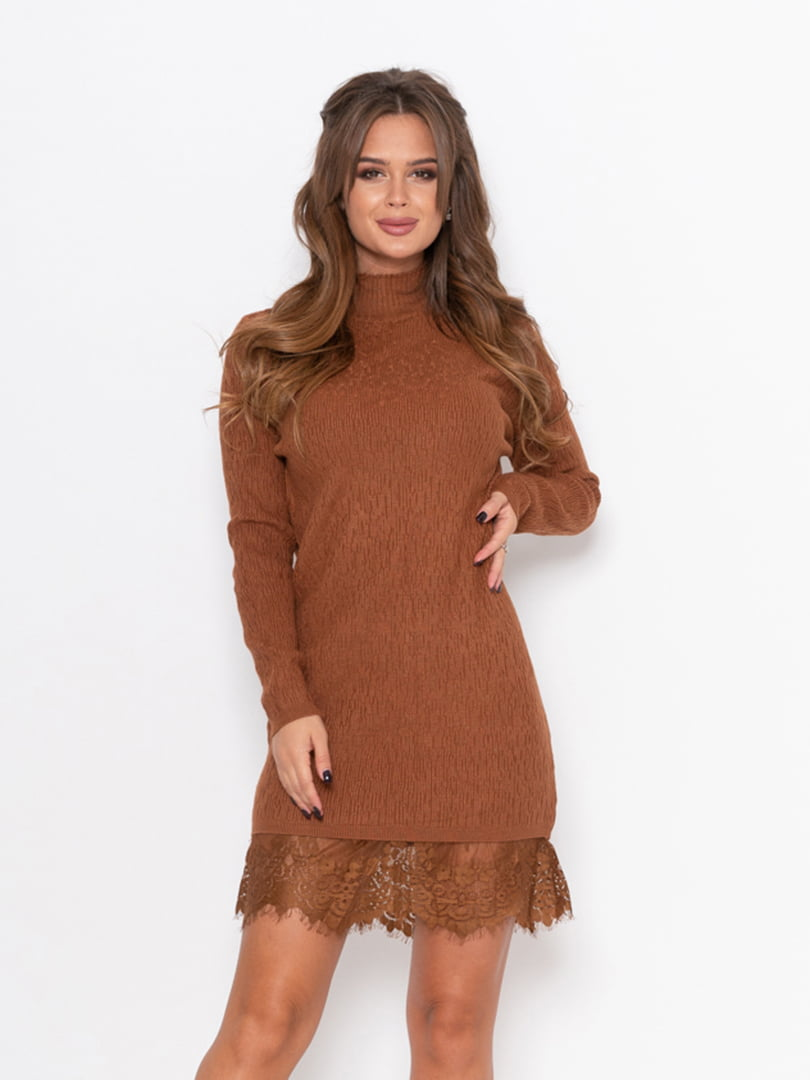 Платье коричневое | 5209196
