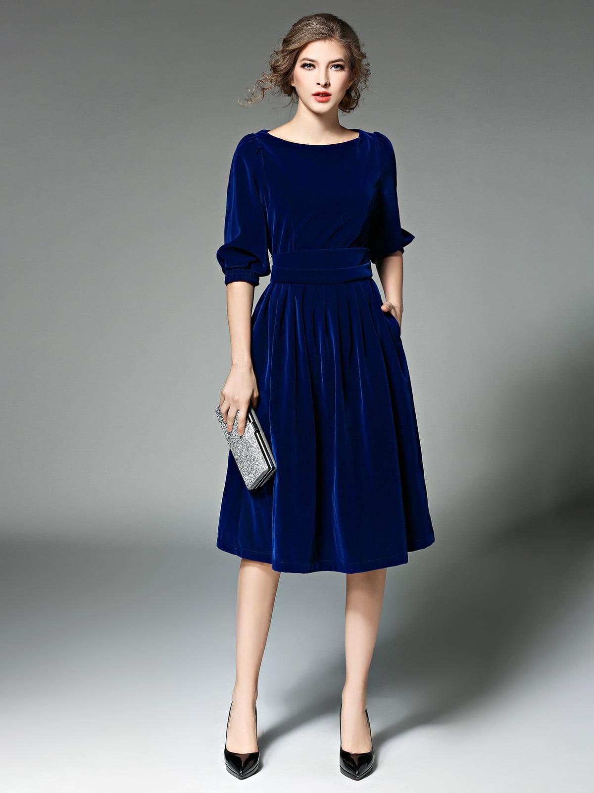 Платье синее | 5209243