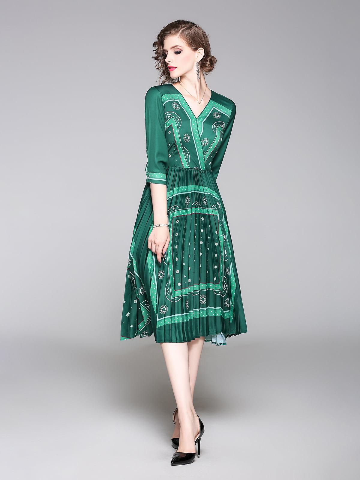 Платье зеленое | 5209247