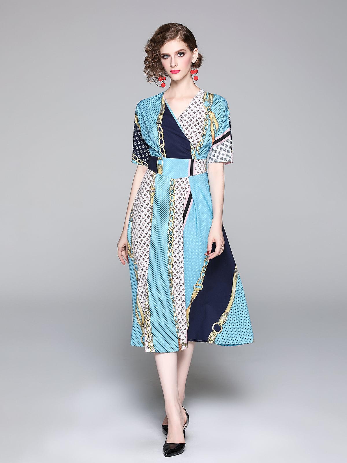 Платье в принт   5209248