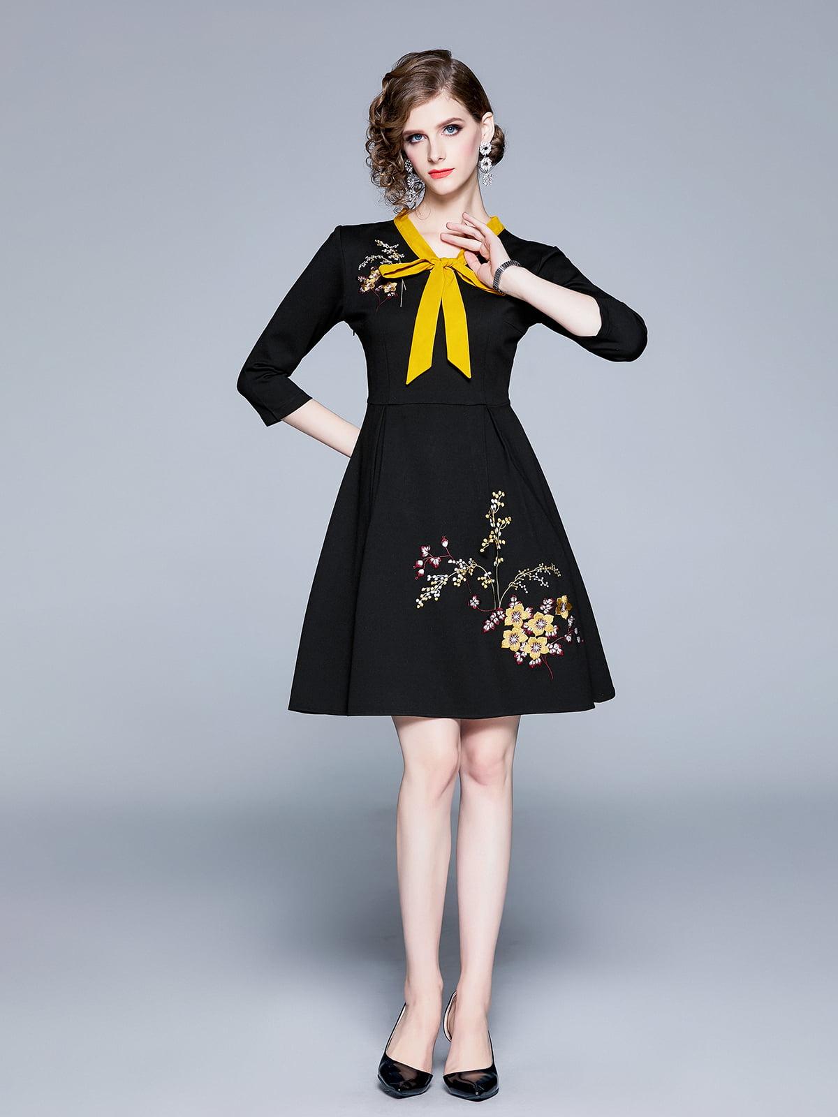 Платье черное   5209252