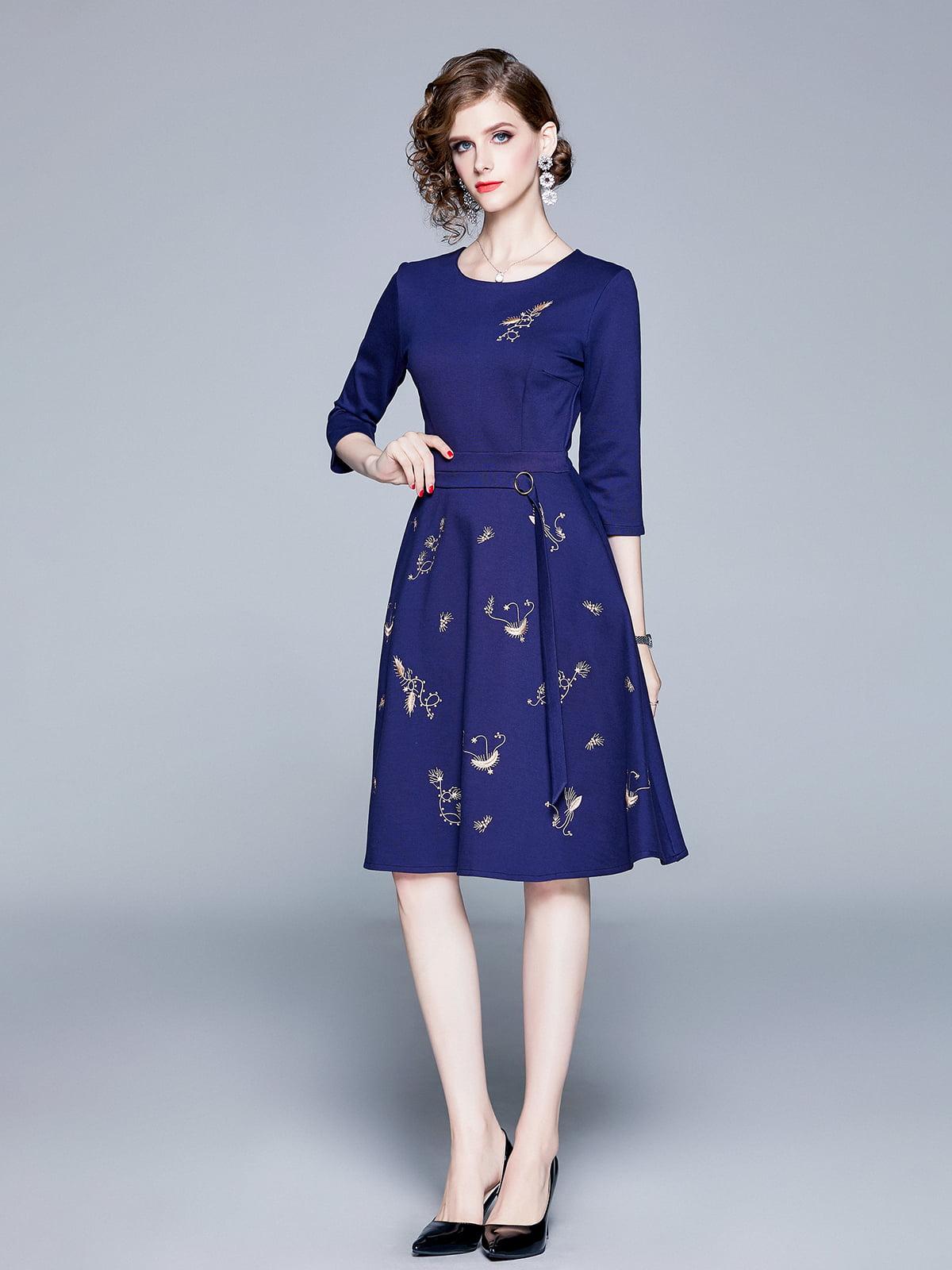Платье синее | 5209253