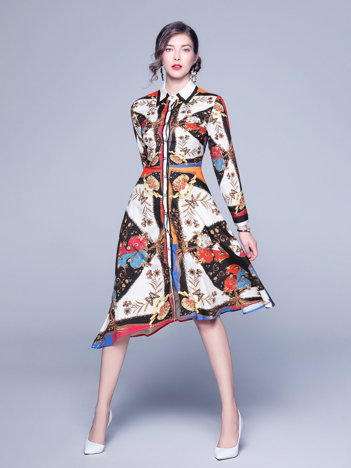 Платье в принт | 5209261
