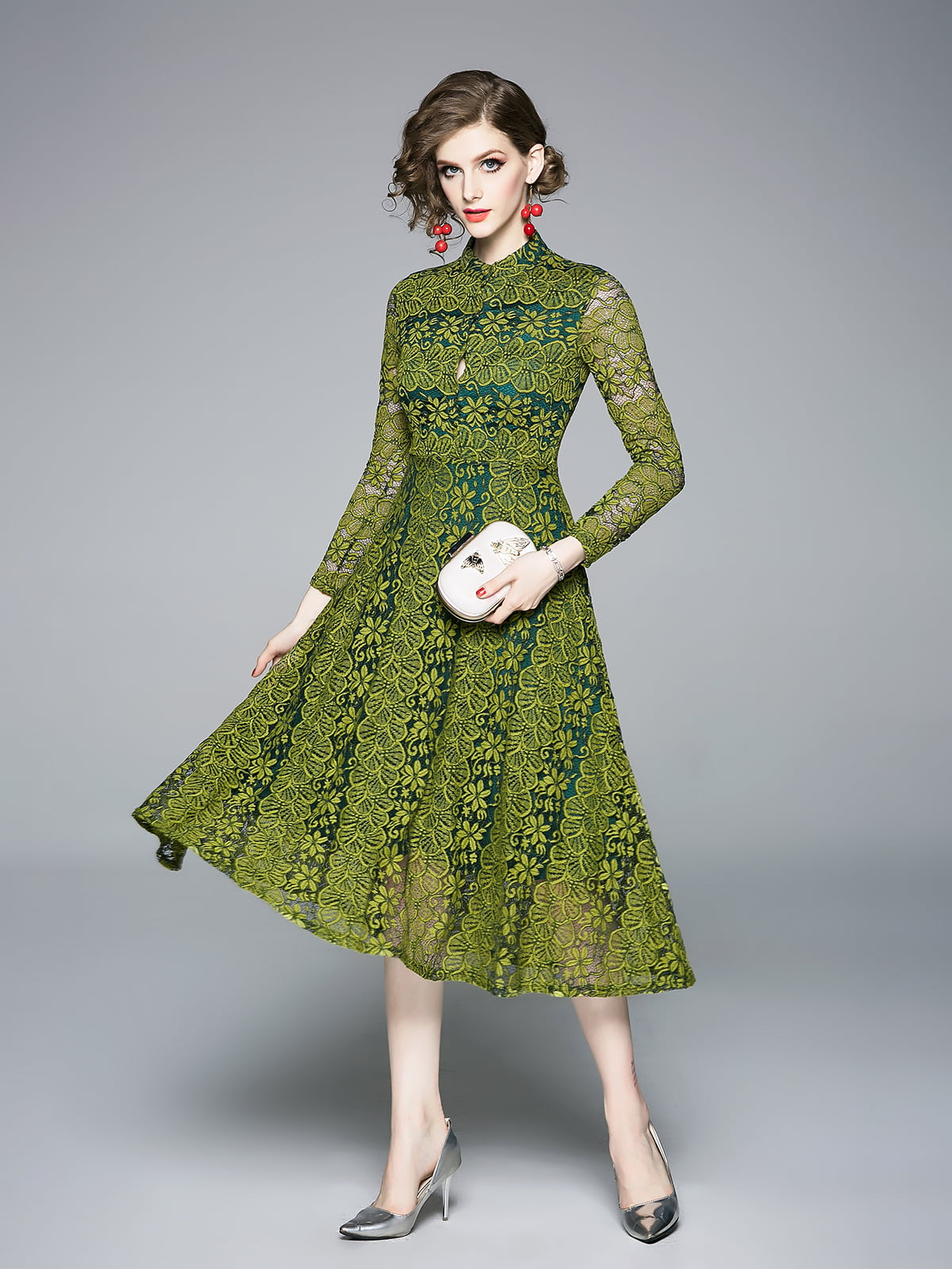 Платье зеленое | 5209264