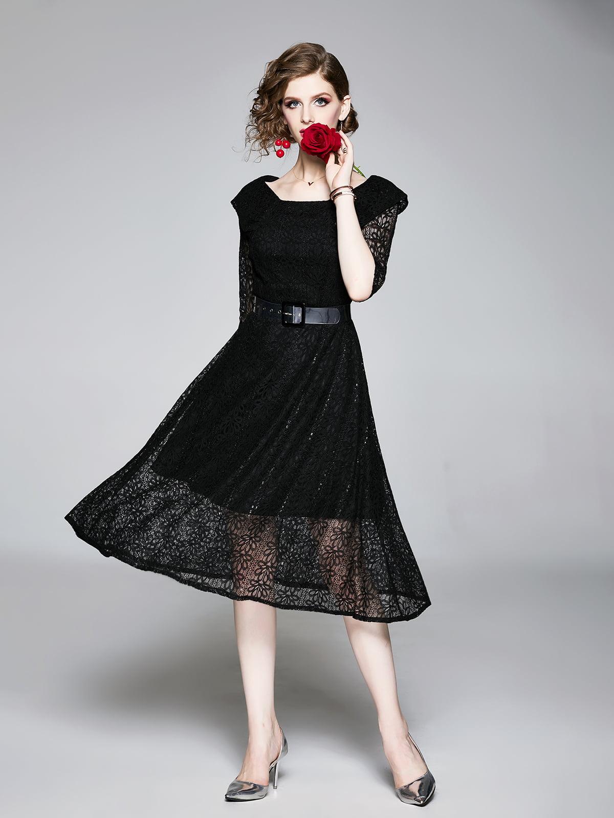 Платье черное | 5209268