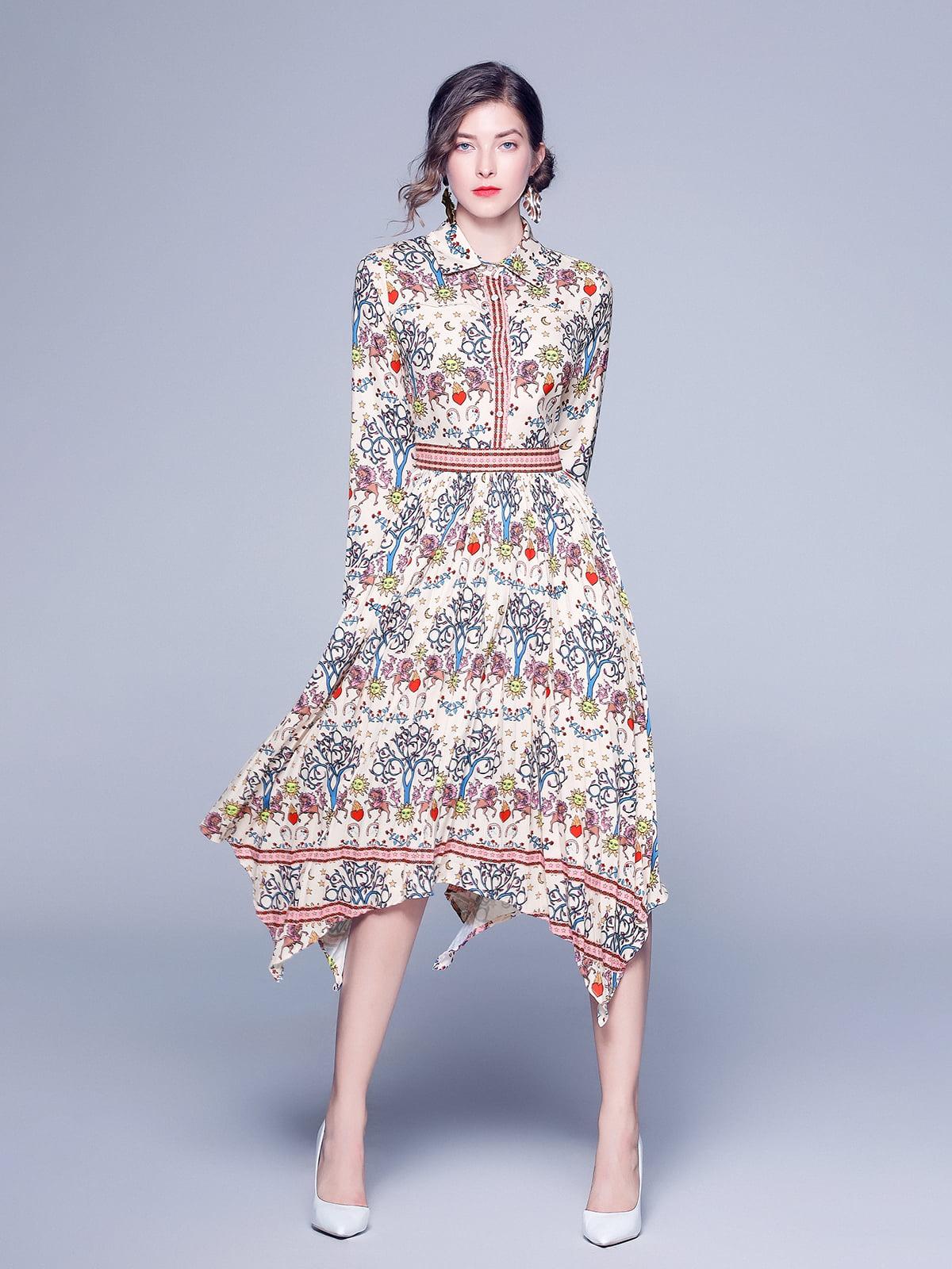 Платье в принт | 5209280