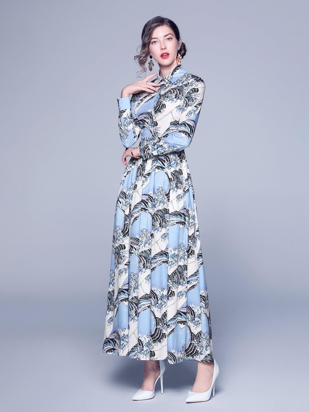 Платье в принт | 5209284