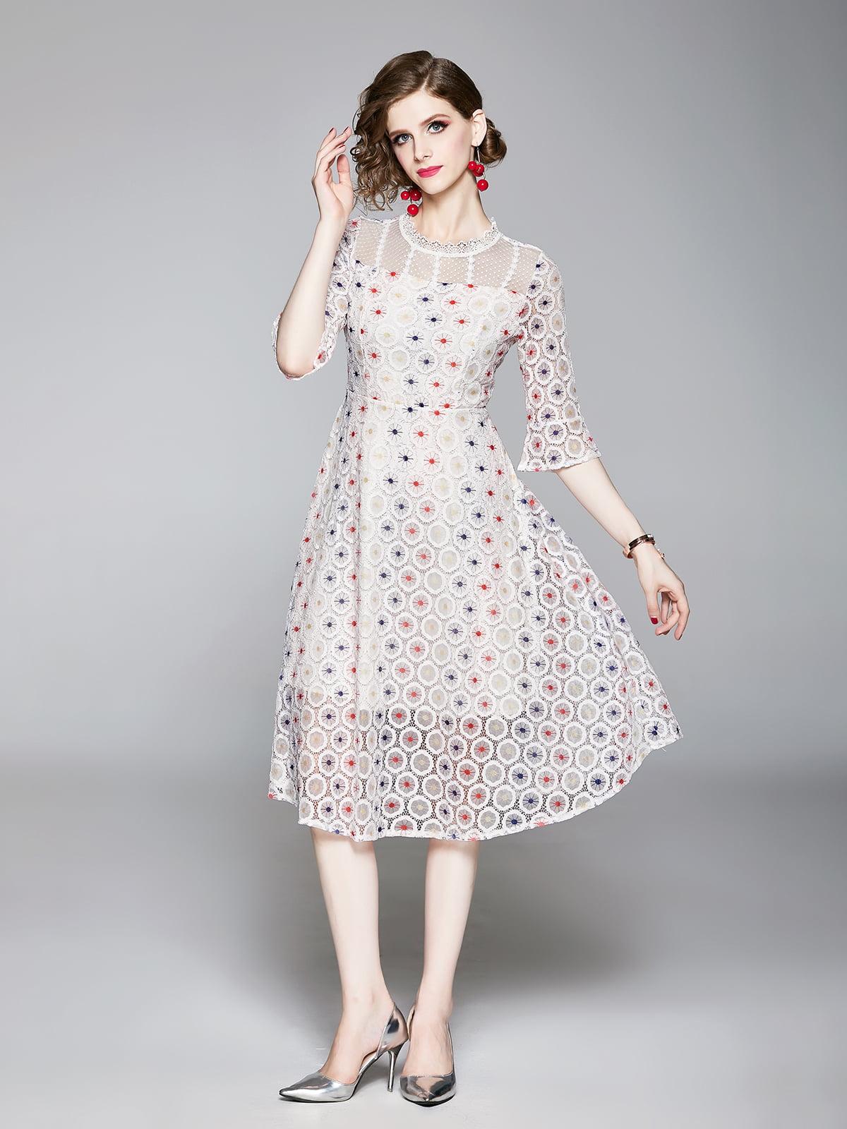 Платье белое   5209291