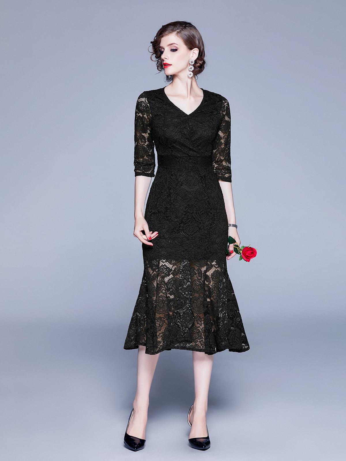Платье черное | 5209296