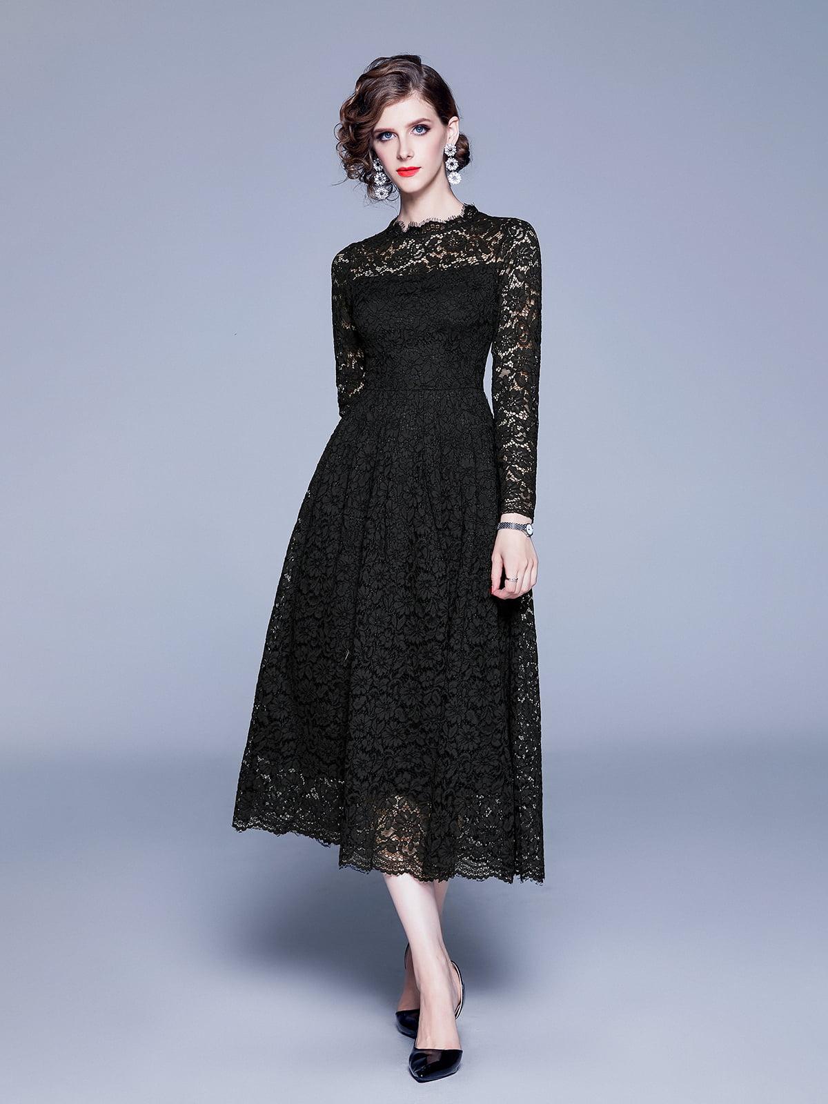 Платье черное | 5209308