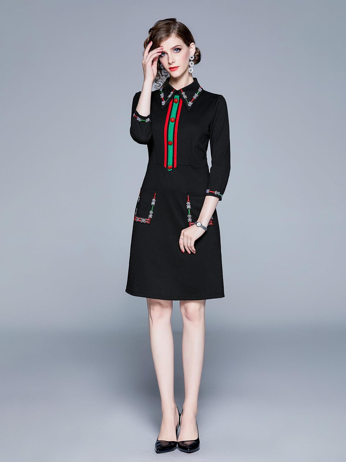 Платье черное   5209313