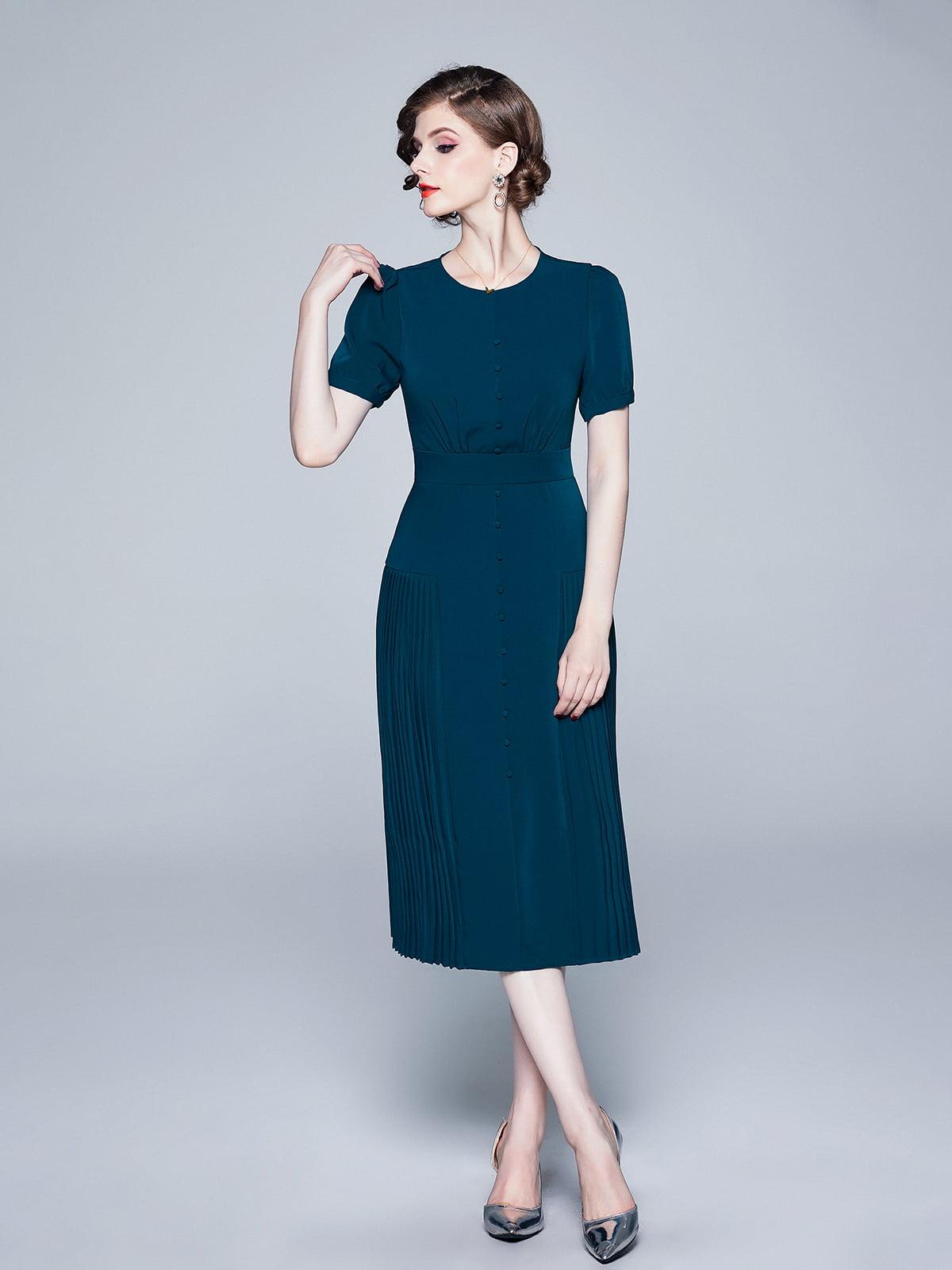 Платье синее   5209314