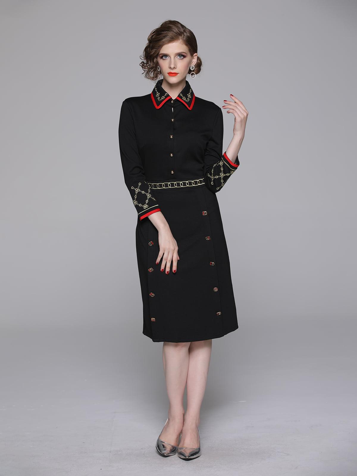Платье черное | 5209316