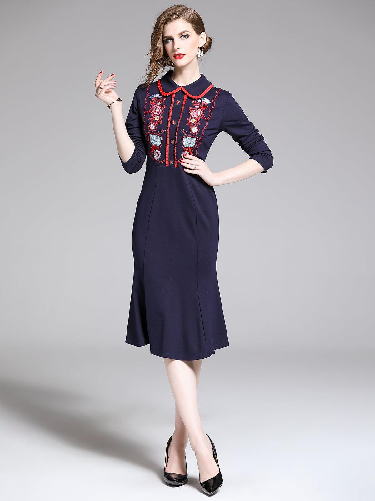 Платье синее | 5209318