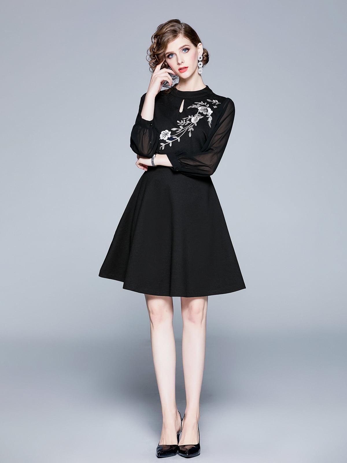 Платье черное | 5209319