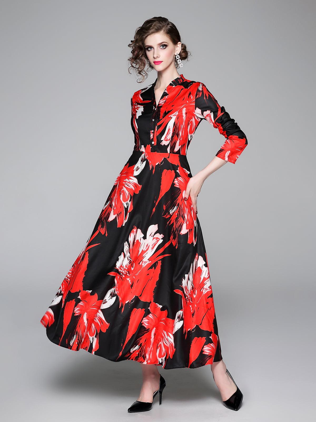 Платье в принт | 5209321