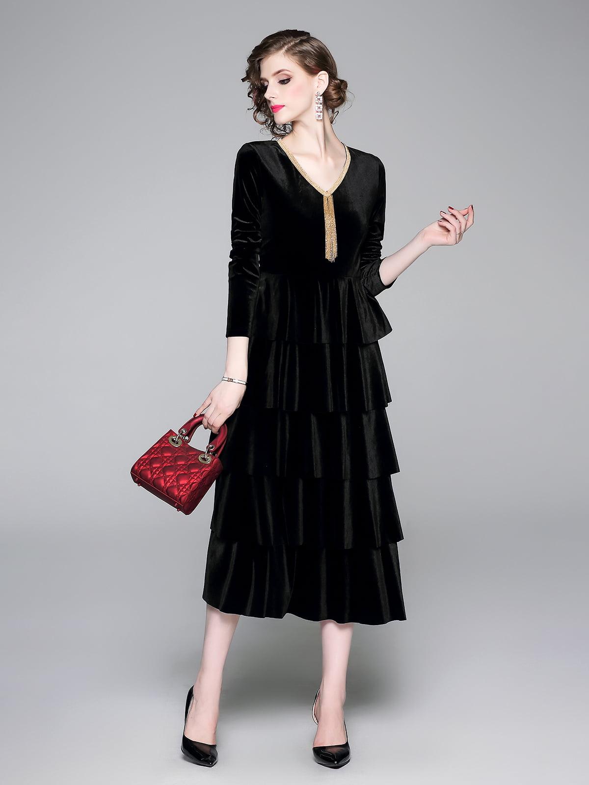 Платье черное | 5209324