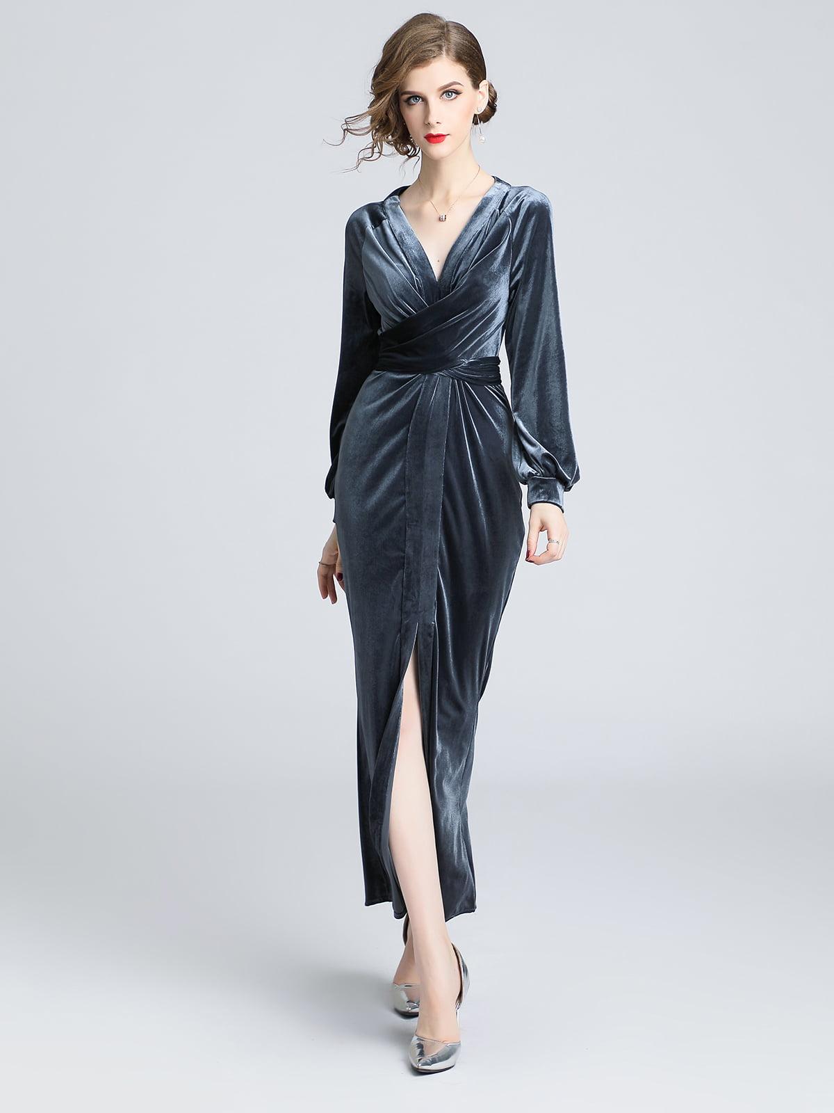 Платье серое | 5209325