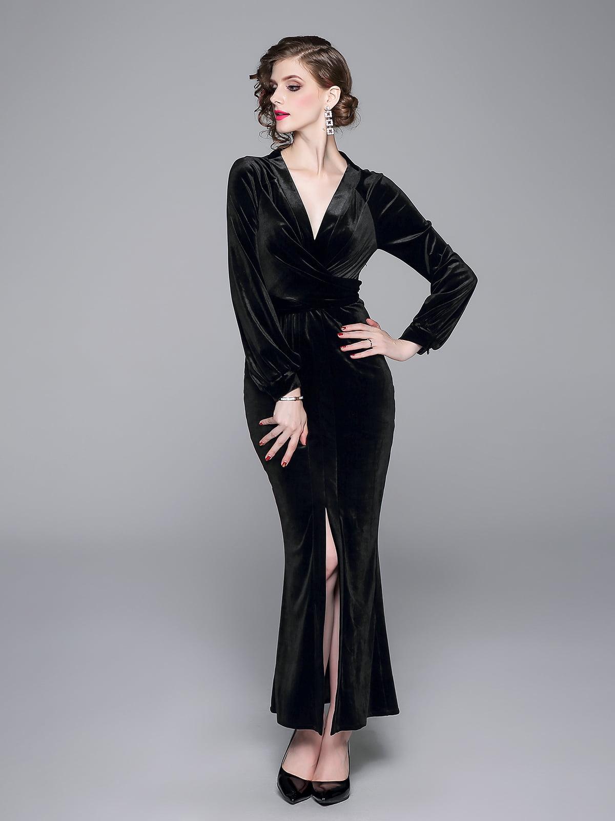 Платье черное | 5209327