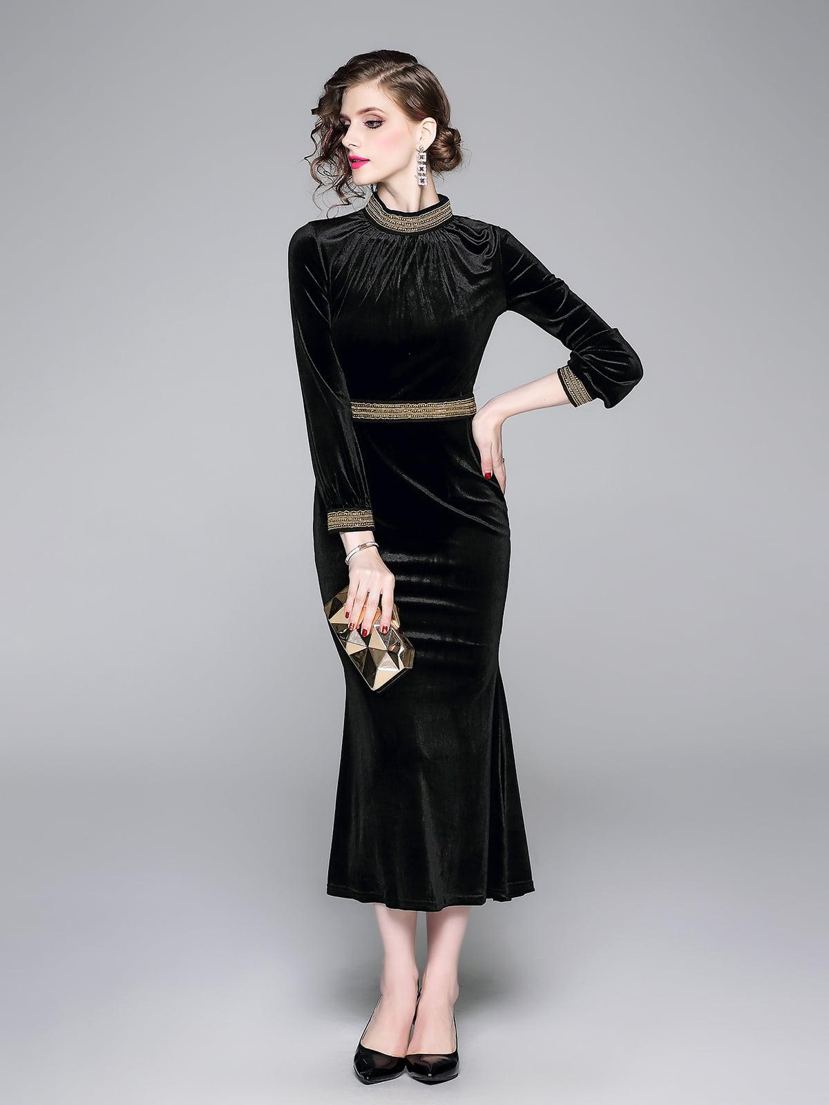 Платье черное | 5209330