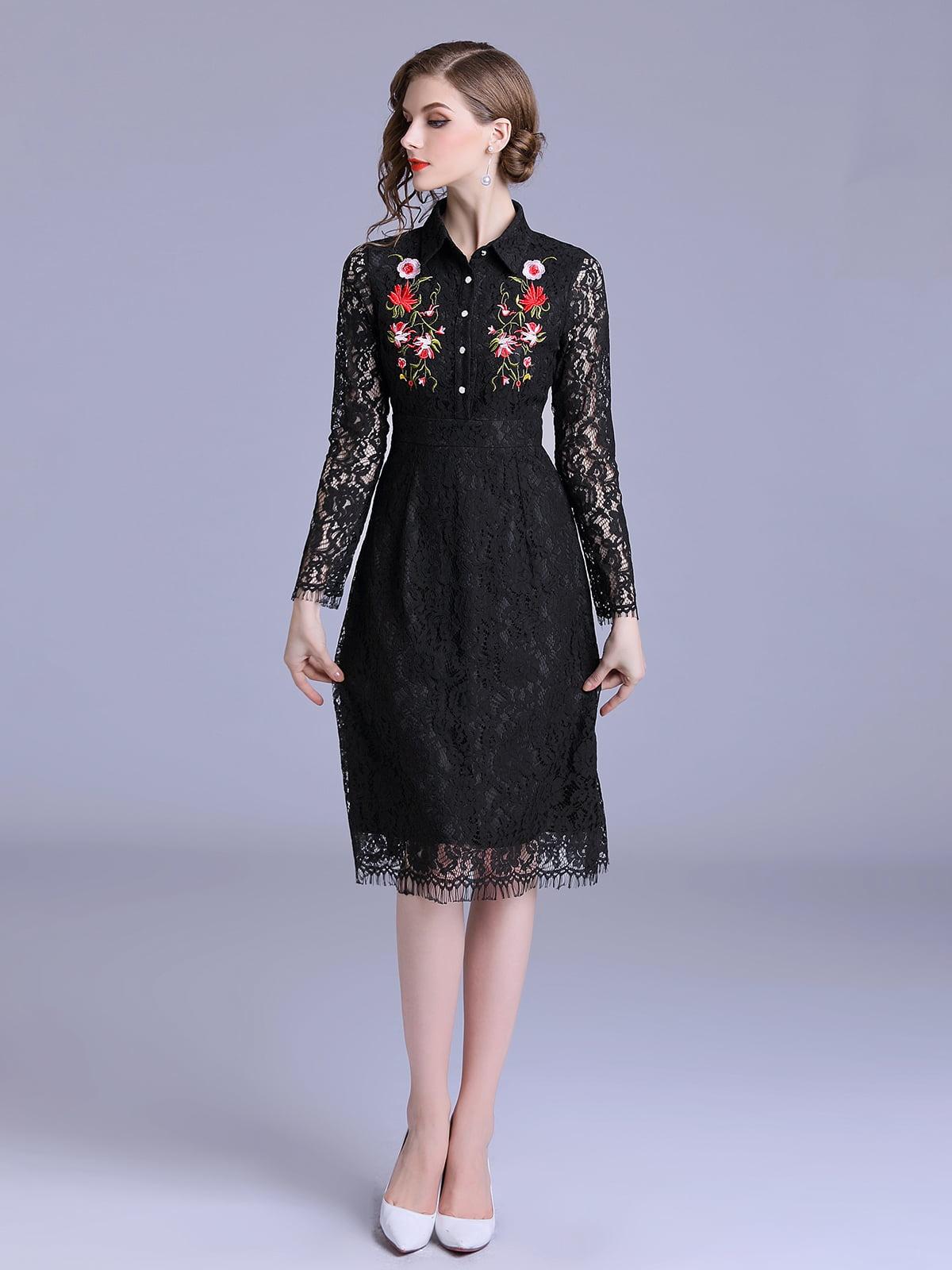 Платье черное   5209337