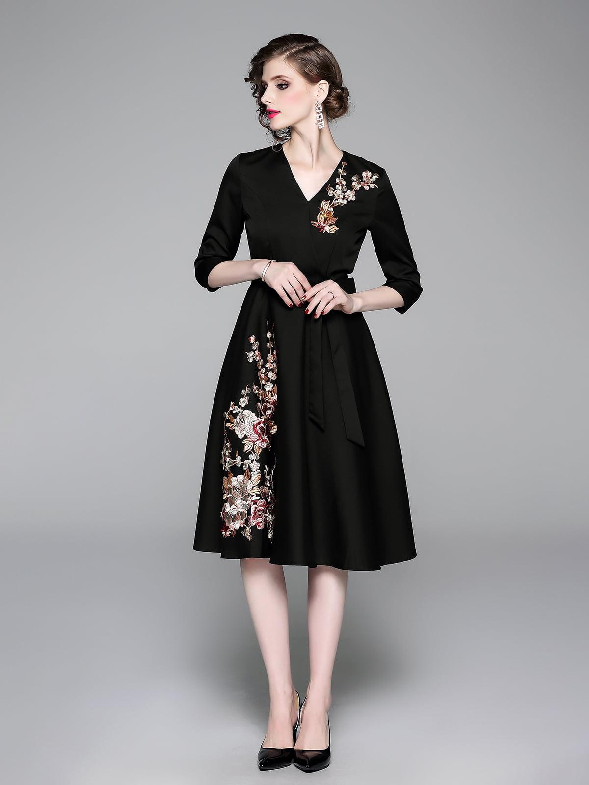 Платье черное   5209338