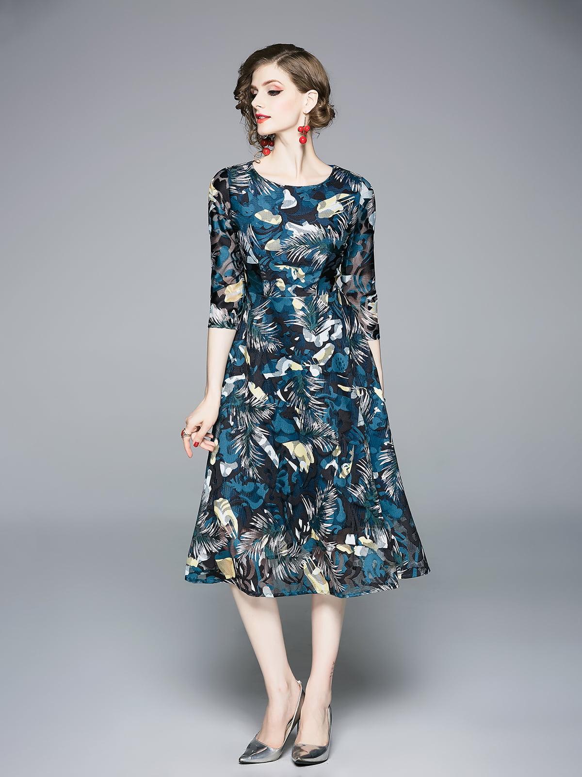Платье в принт   5209361