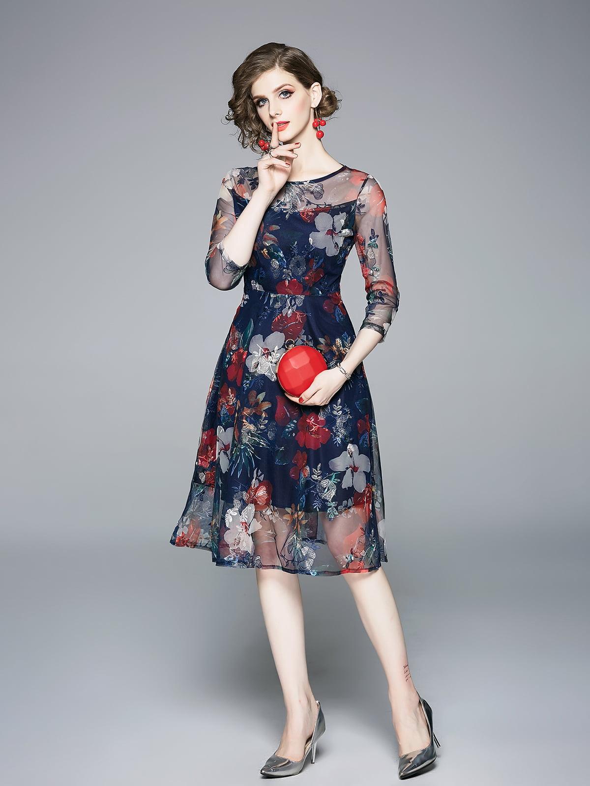 Платье в принт | 5209362