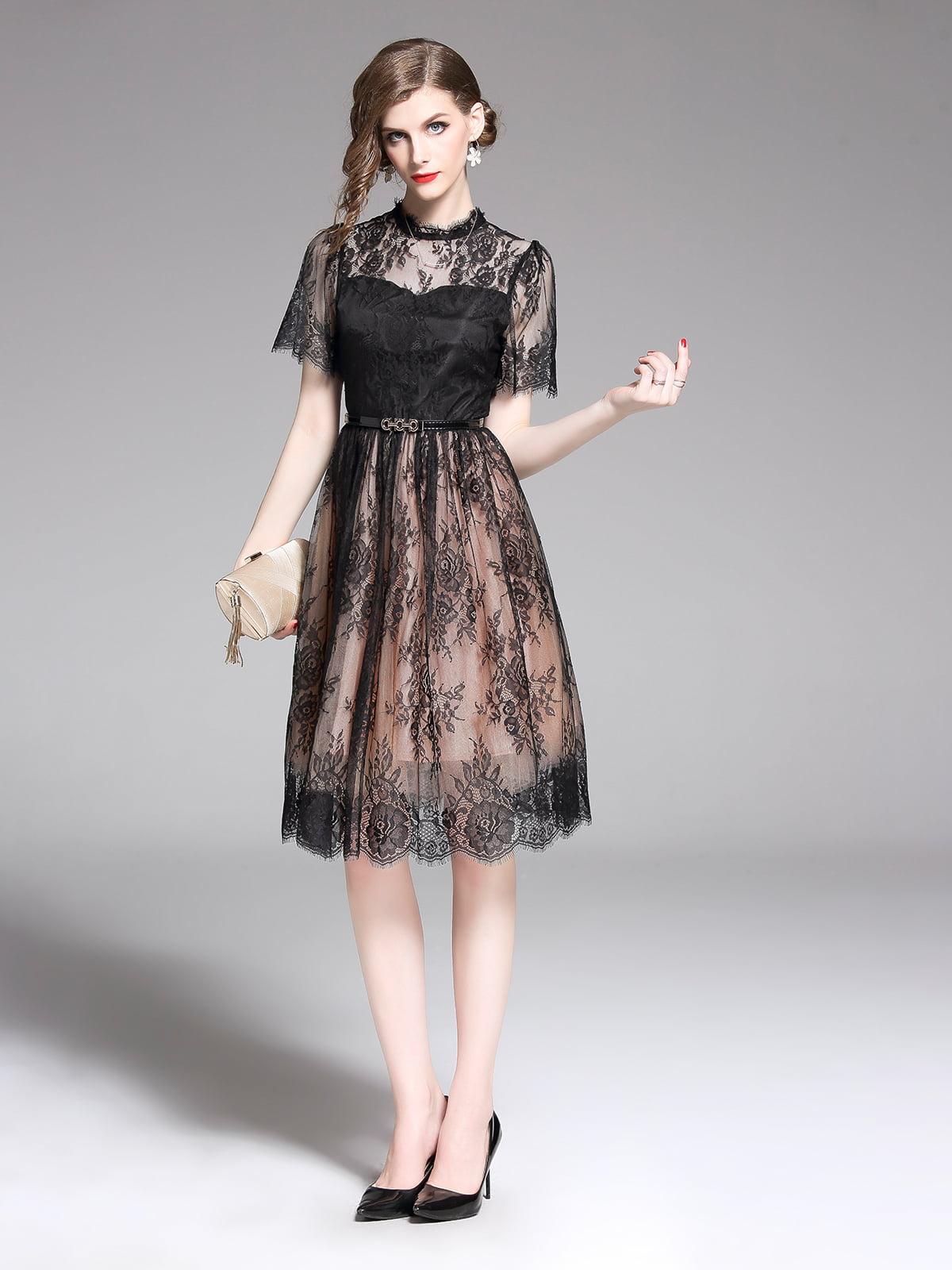 Платье черное | 5209367
