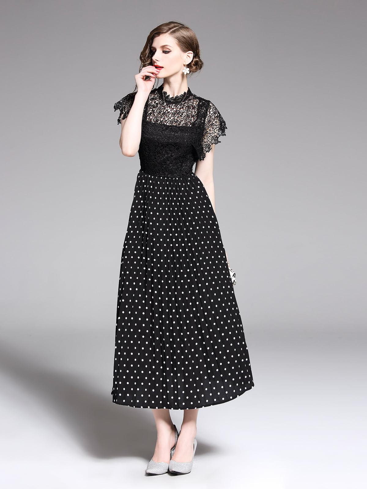 Платье черное | 5209368