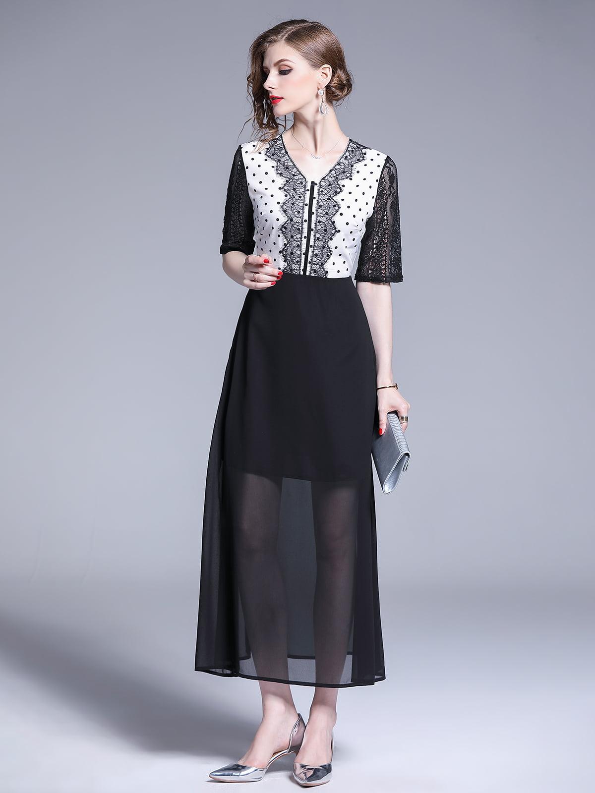 Платье черное | 5209371