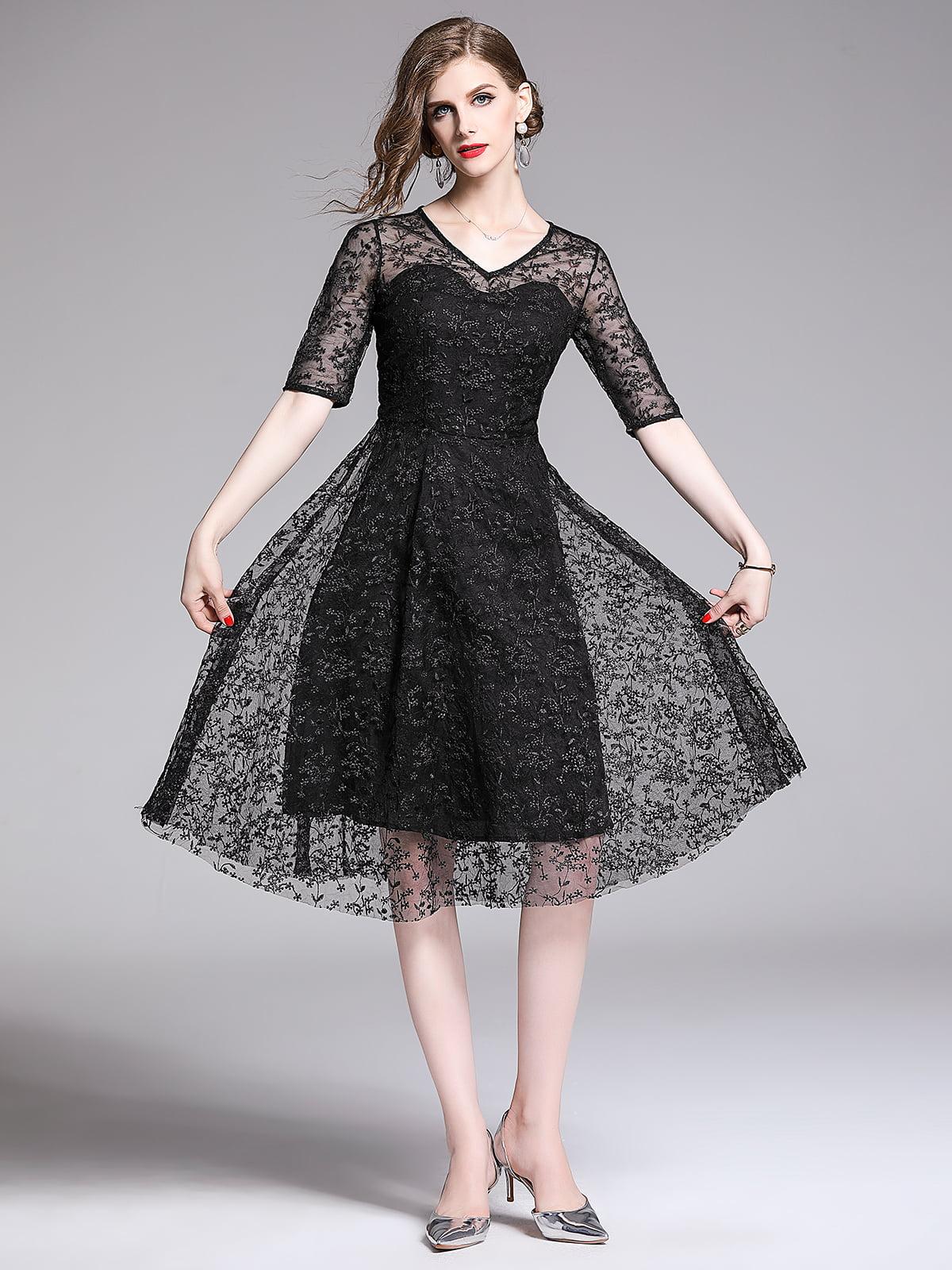 Платье черное | 5209375
