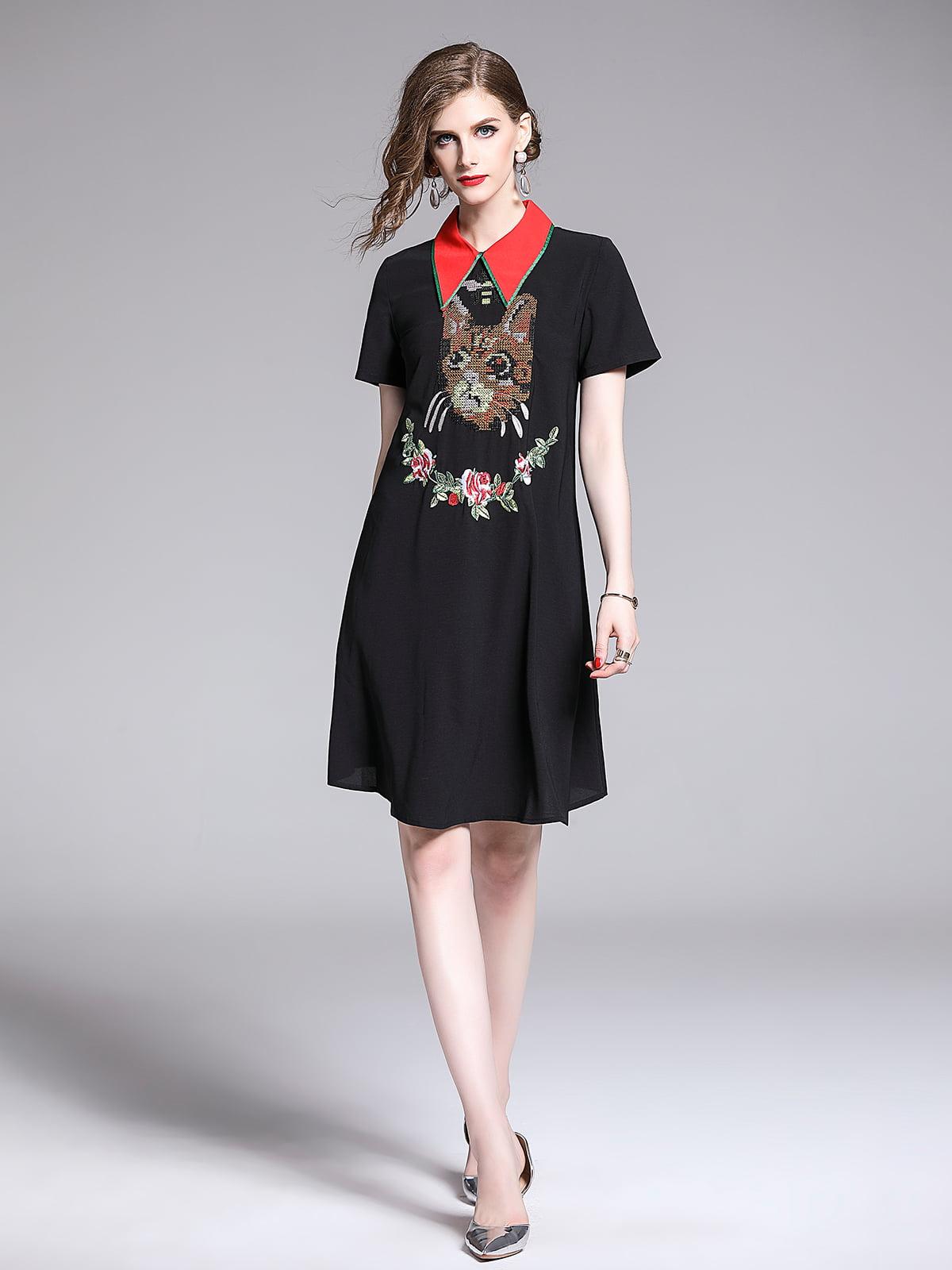 Платье черное | 5209381