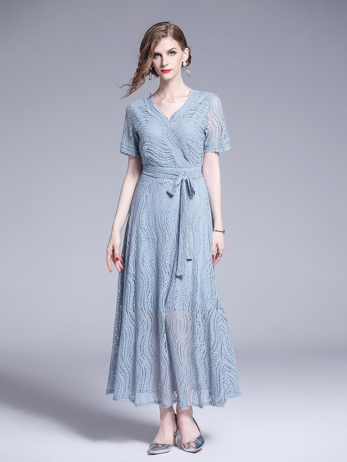 Платье голубое | 5209391