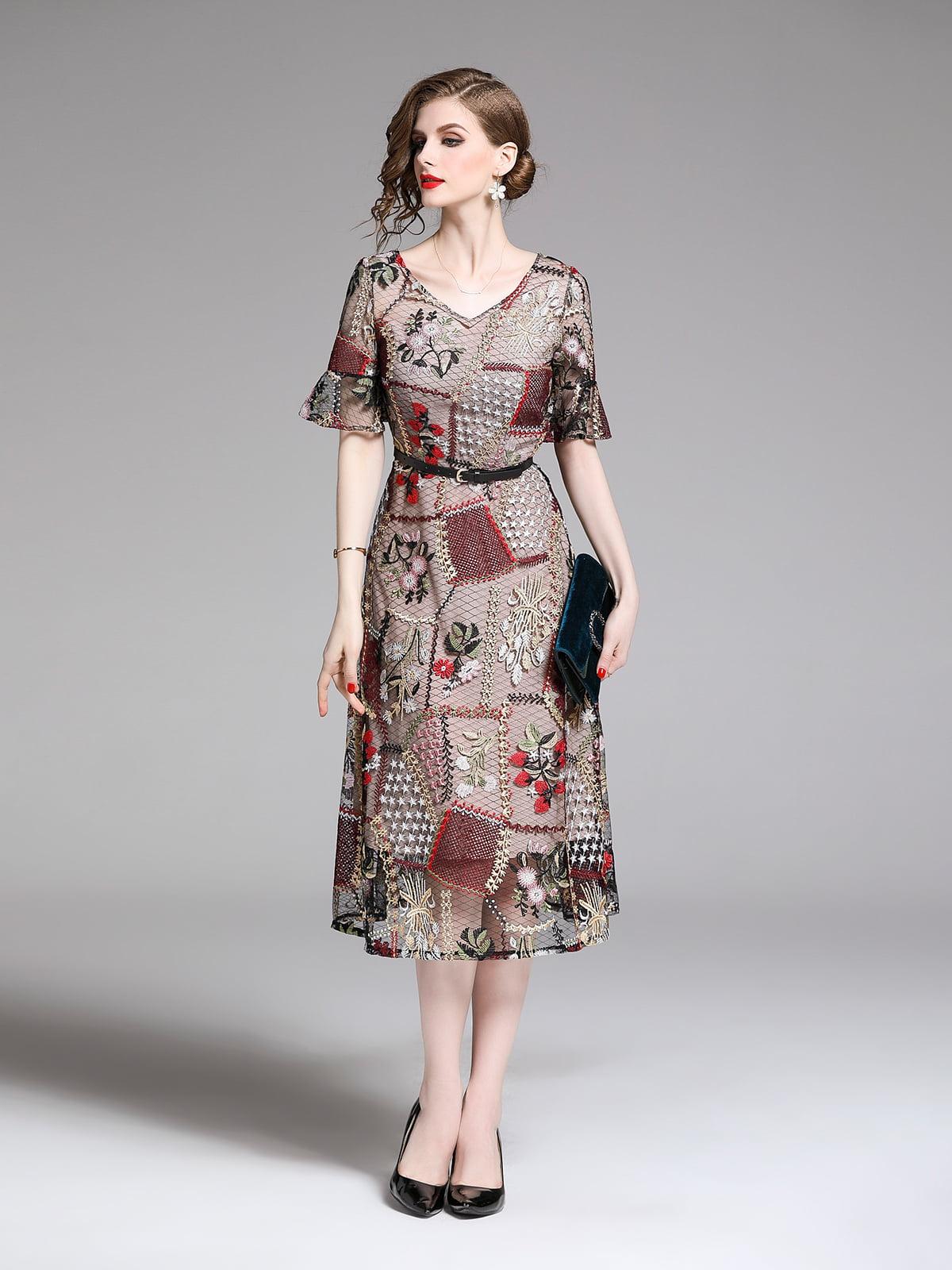 Платье серое | 5209398