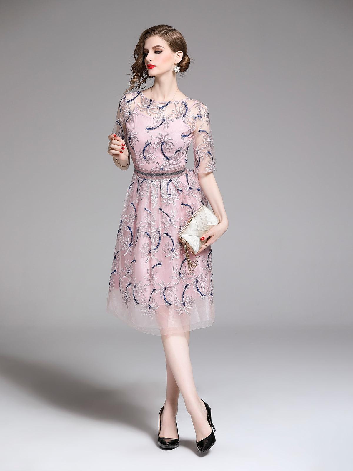 Платье розовое | 5209404