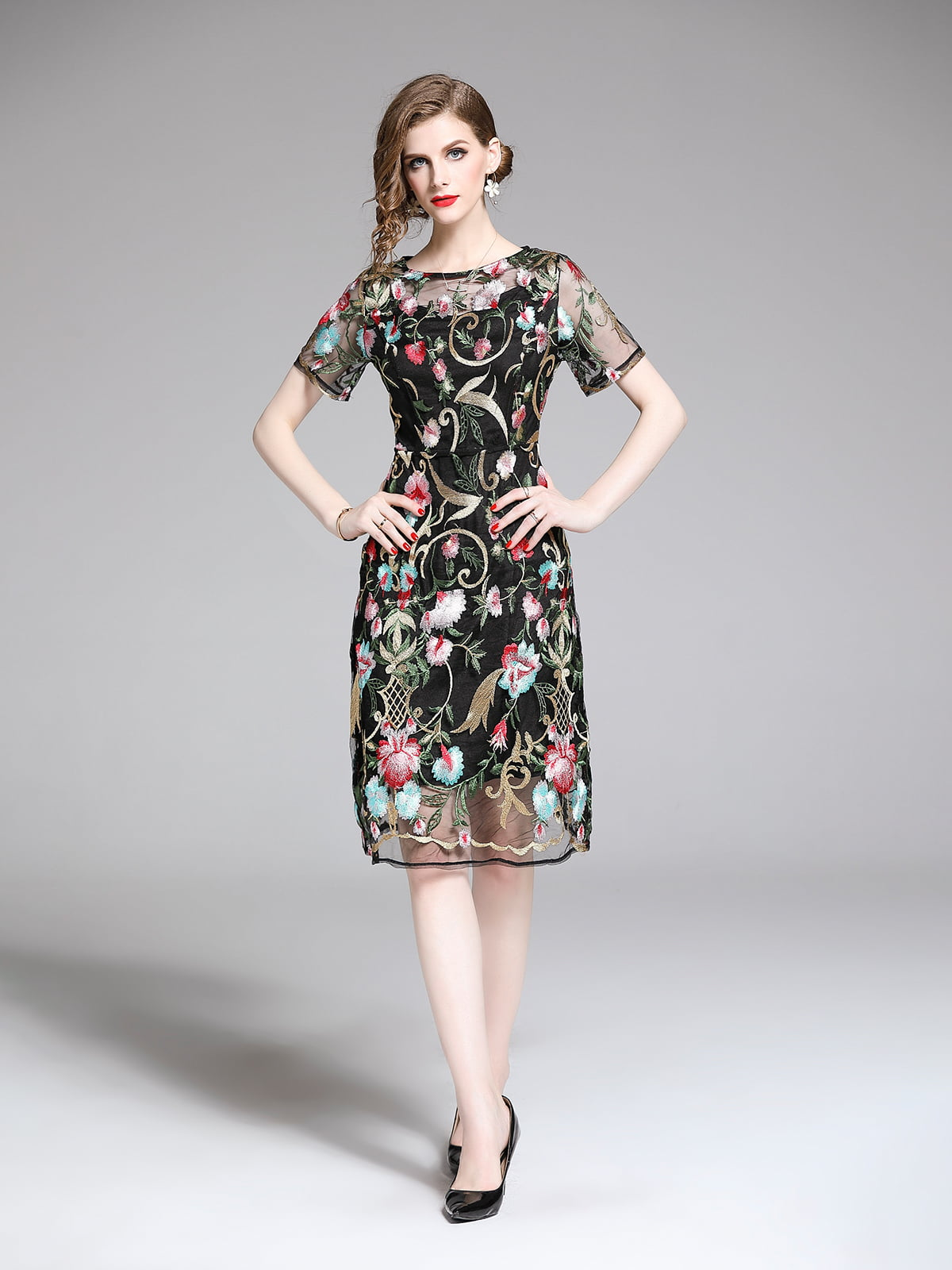 Платье черное | 5209406