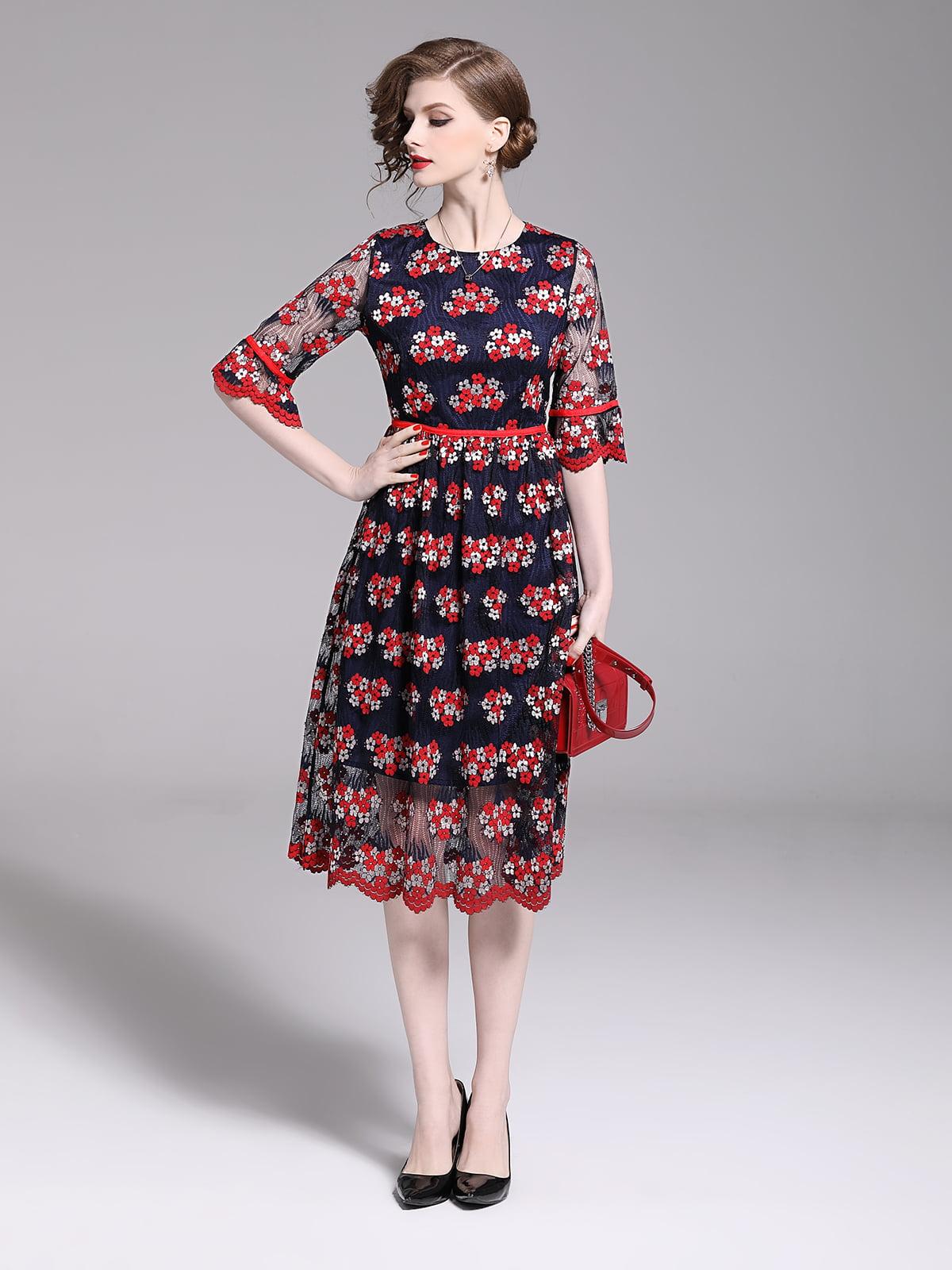Платье красное | 5209413