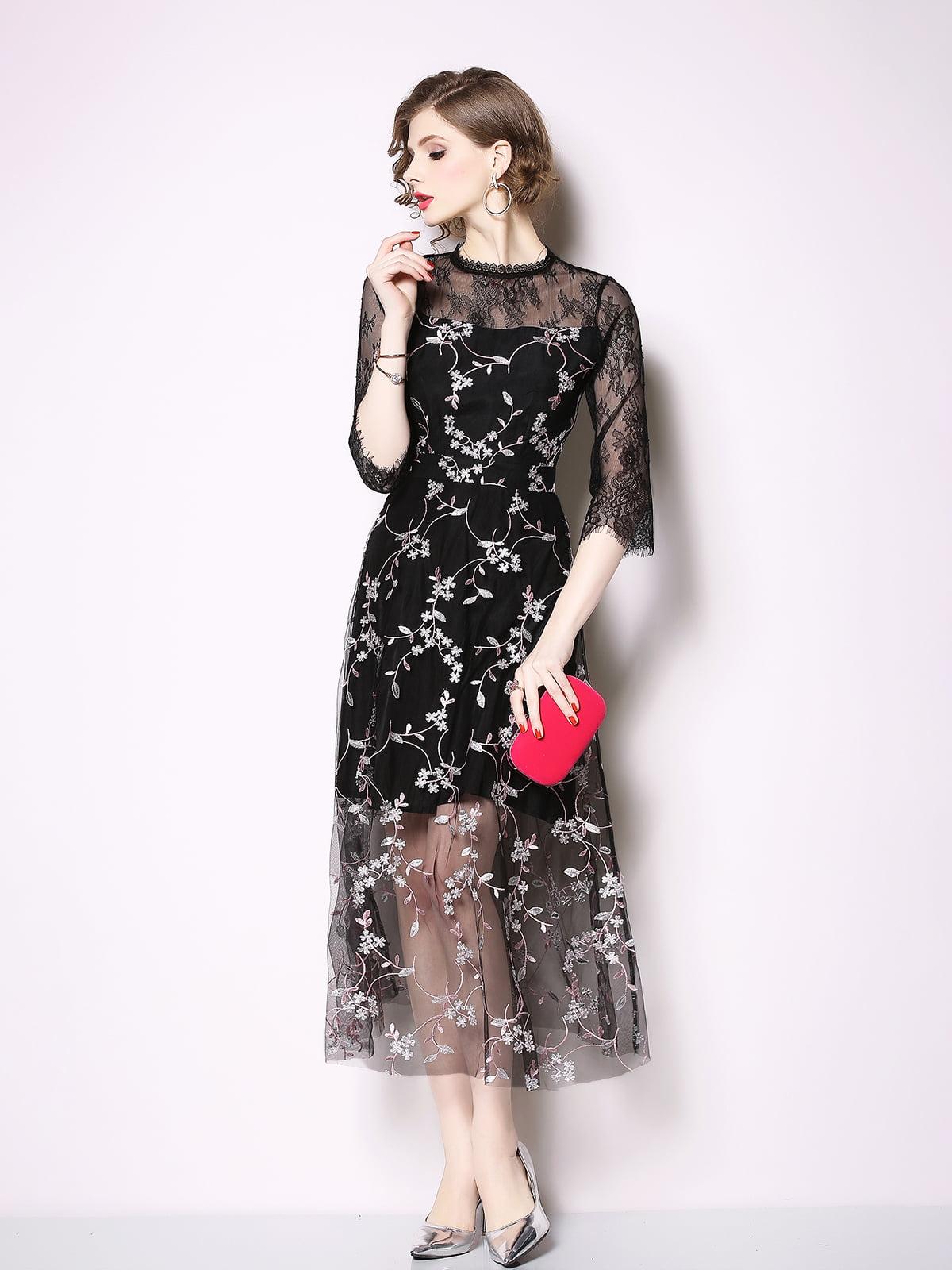 Платье черное | 5209415