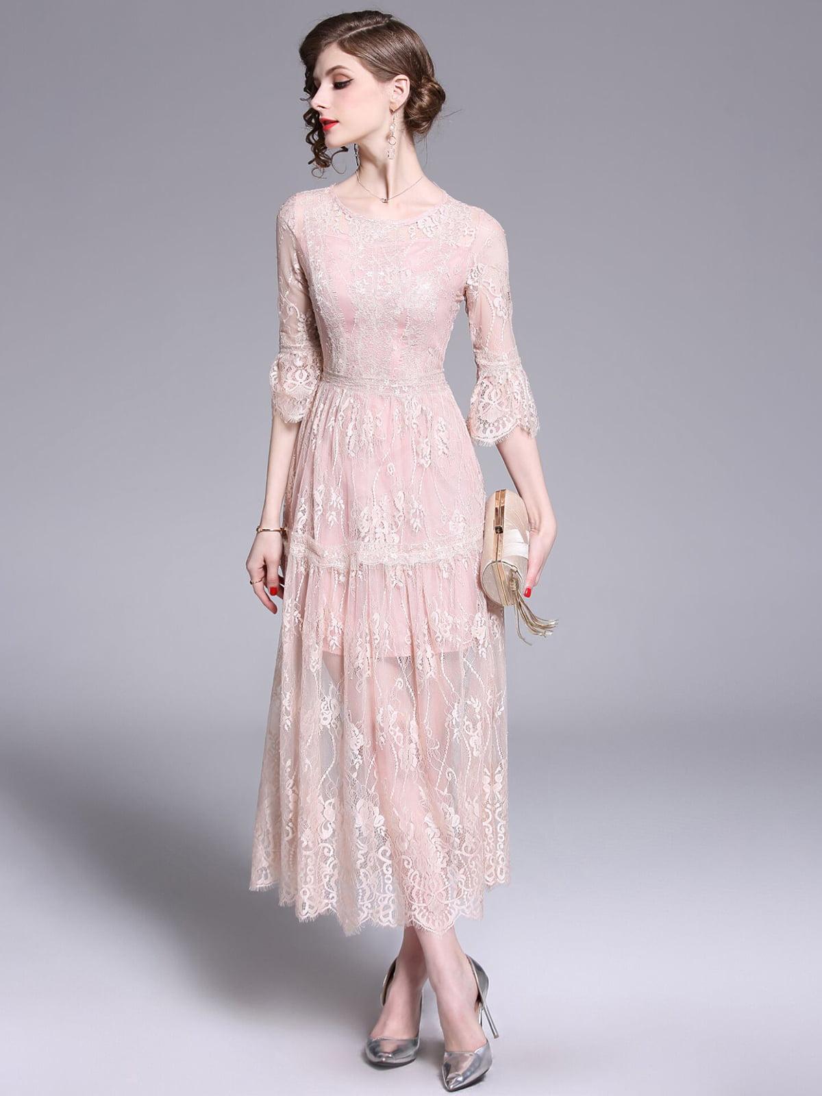 Платье розовое | 5209433