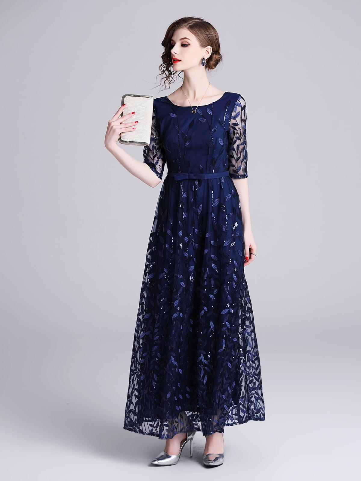 Платье синее | 5209434